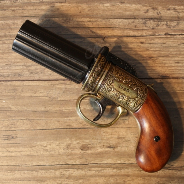 """Pepperbox"" London 1840 - Replik"